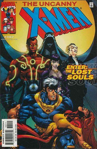 Couverture de Uncanny X-Men (The) (Marvel comics - 1963) -382- Lost souls