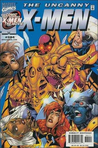 Couverture de Uncanny X-Men (The) (Marvel comics - 1963) -384- Crimson pirates