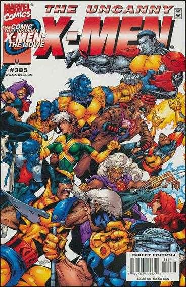 Couverture de Uncanny X-Men (The) (Marvel comics - 1963) -385- Shell game
