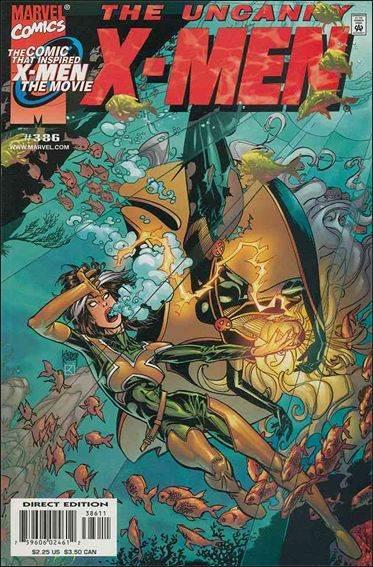 Couverture de Uncanny X-Men (The) (1963) -386- For those in peril
