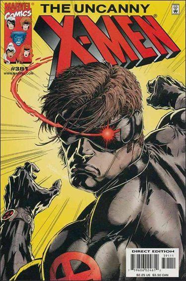 Couverture de Uncanny X-Men (The) (Marvel comics - 1963) -391- Dad