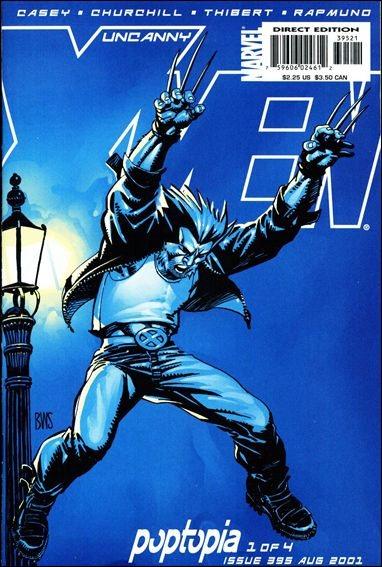 Couverture de Uncanny X-Men (The) (1963) -395- Poptopia part 1 : useless beauty