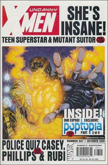 Couverture de Uncanny X-Men (The) (Marvel comics - 1963) -397- Poptopia part 3: a complete unknown