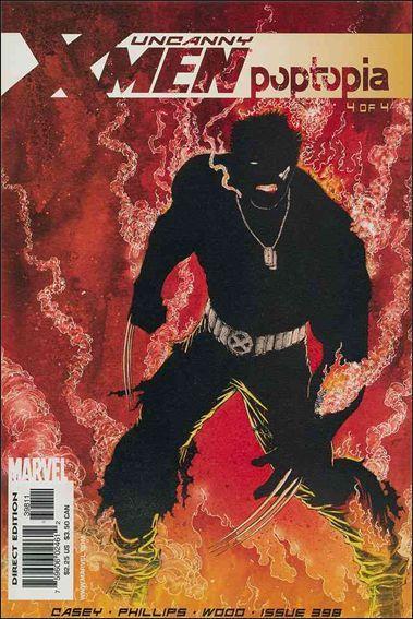 Couverture de X-Men Vol.1 (The Uncanny) (Marvel comics - 1963) -398- Poptopia part 4 : the clash