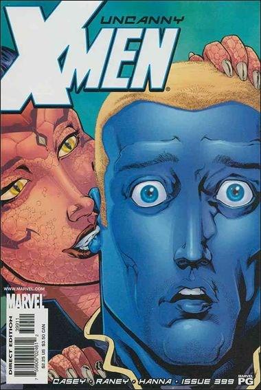 Couverture de Uncanny X-Men (The) (Marvel comics - 1963) -399- For unlawful carnal knowledge