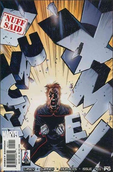 Couverture de Uncanny X-Men (The) (Marvel comics - 1963) -401- Golden