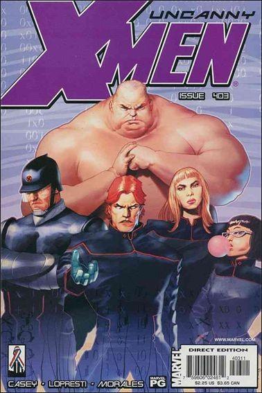 Couverture de Uncanny X-Men (The) (Marvel comics - 1963) -403- Lurking