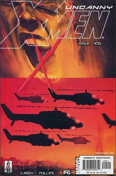 Couverture de Uncanny X-Men (The) (1963) -405- Ballroom blitzkrieg