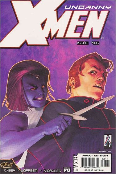 Couverture de Uncanny X-Men (The) (1963) -406- Staring contests are for suckers