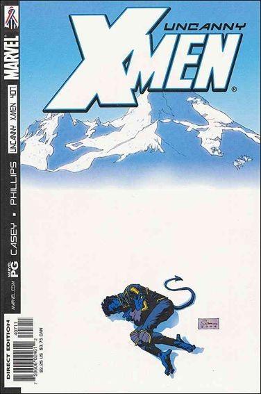 Couverture de Uncanny X-Men (The) (Marvel comics - 1963) -407- Gläubiger, heiler, gefallener