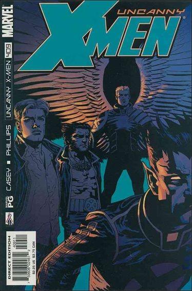Couverture de Uncanny X-Men (The) (Marvel comics - 1963) -409- Rocktopia