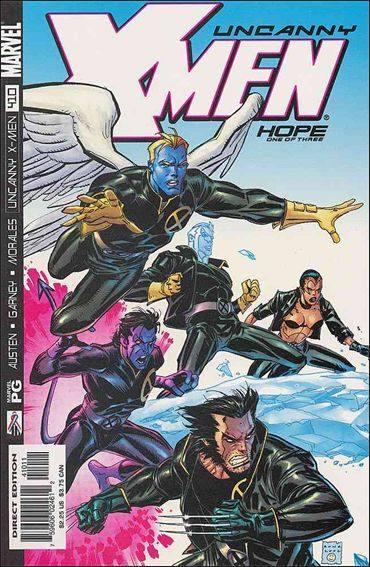 Couverture de Uncanny X-Men (The) (1963) -410- Hope part 1