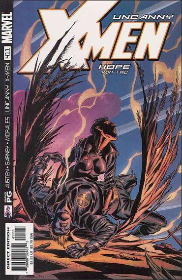 Couverture de Uncanny X-Men (The) (1963) -411- Hope part 2