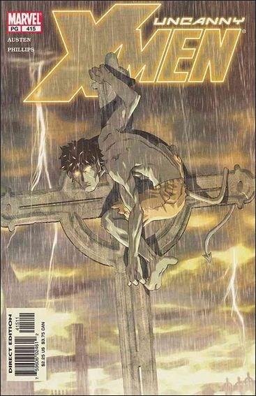 Couverture de Uncanny X-Men (The) (1963) -415- Secrets