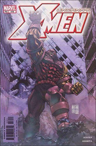 Couverture de Uncanny X-Men (The) (1963) -416- Living in a mansion