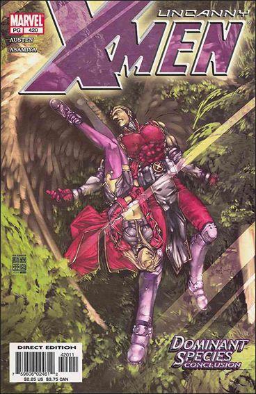 Couverture de Uncanny X-Men (The) (Marvel comics - 1963) -420- Dominant species part 4