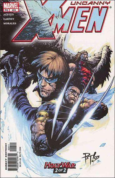 Couverture de Uncanny X-Men (The) (1963) -424- Holy war part 2