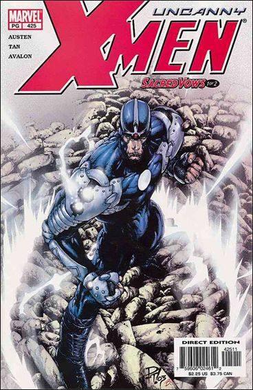 Couverture de Uncanny X-Men (The) (Marvel comics - 1963) -425- Sacred vows part 1