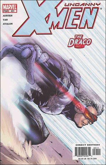 Couverture de Uncanny X-Men (The) (Marvel comics - 1963) -431- The draco part 3