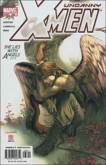 Couverture de Uncanny X-Men (The) (Marvel comics - 1963) -438- She lies with angels part 2