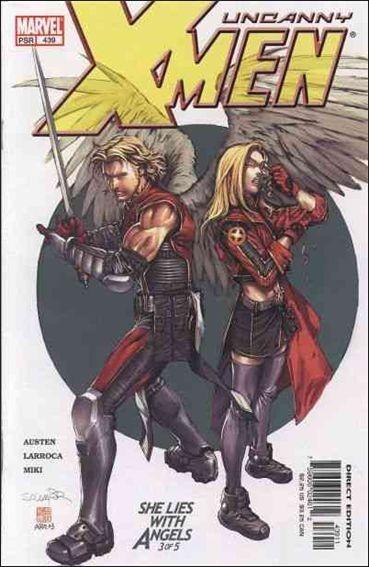 Couverture de Uncanny X-Men (The) (1963) -439- She lies with angels part 3