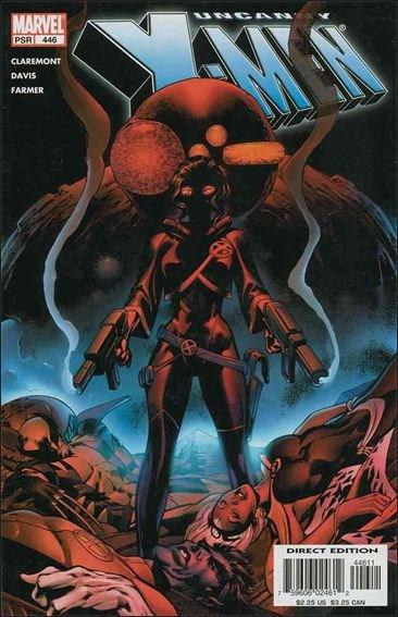 Couverture de Uncanny X-Men (The) (Marvel comics - 1963) -446- The end of history part 3 : burning sage