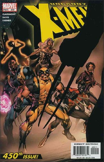 Couverture de Uncanny X-Men (The) (Marvel comics - 1963) -450- The cruelest cut
