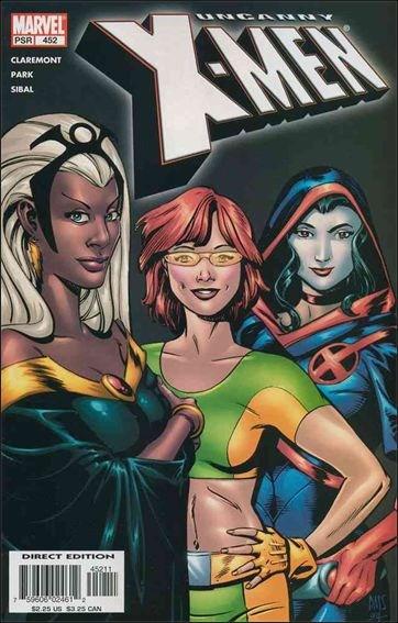 Couverture de Uncanny X-Men (The) (1963) -452- Chasing hellfire part 1