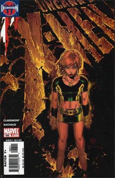 Couverture de Uncanny X-Men (The) (Marvel comics - 1963) -466- Grey's end part 1 : last night i had the strangest dream