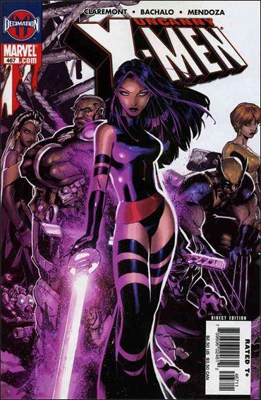 Couverture de Uncanny X-Men (The) (Marvel comics - 1963) -467- Grey's end part 2 : 24 seconds