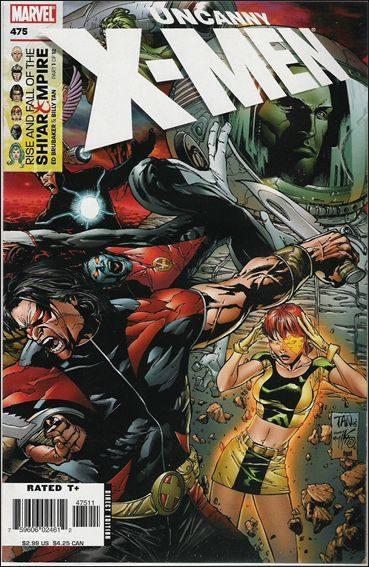 Couverture de Uncanny X-Men (The) (Marvel comics - 1963) -475- Rise and fall of the shi'ar empire part 1 : plan b