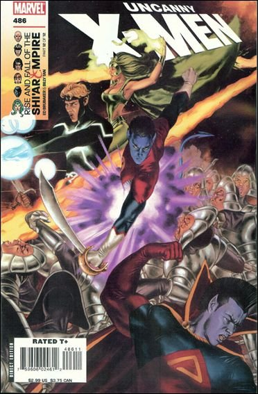 Couverture de Uncanny X-Men (The) (Marvel comics - 1963) -486- Rise and fall of the shi'ar empire part 12 : endings and beginnings