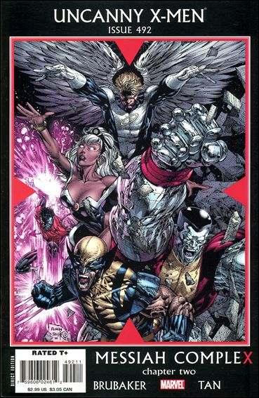 Couverture de Uncanny X-Men (The) (Marvel comics - 1963) -492- Messiah complex part 2