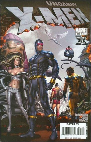 Couverture de Uncanny X-Men (The) (Marvel comics - 1963) -495- X-men : divided part 1