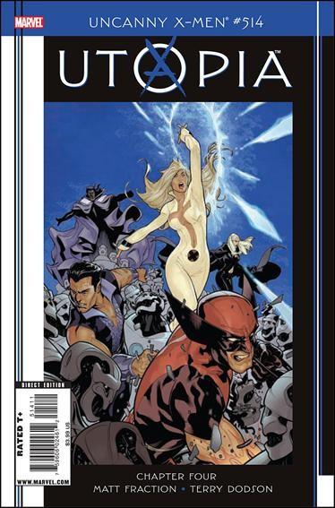 Couverture de Uncanny X-Men (The) (1963) -514- Utopia, part 4