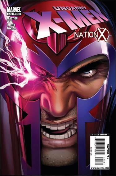 Couverture de Uncanny X-Men (The) (Marvel comics - 1963) -516- Nation x part 2