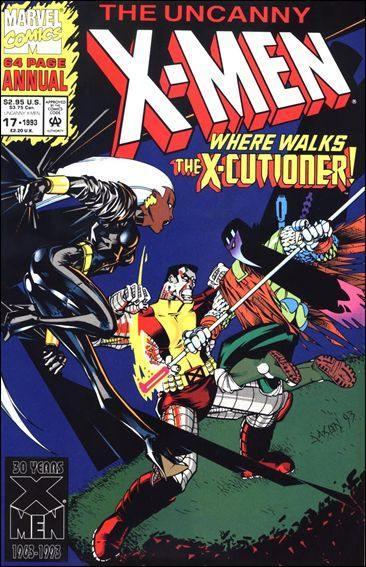 Couverture de Uncanny X-Men (The) (Marvel comics - 1963) -AN17- The gift goodbye