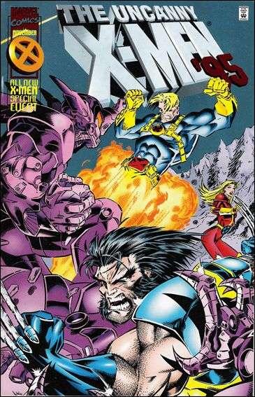 Couverture de Uncanny X-Men (The) (Marvel comics - 1963) -AN1995- Growing pains