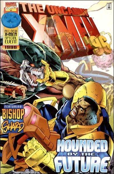 Couverture de Uncanny X-Men (The) (Marvel comics - 1963) -AN1996- Destiny's child