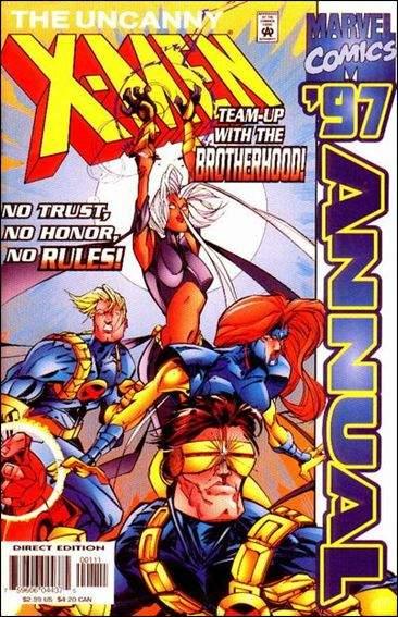 Couverture de Uncanny X-Men (The) (1963) -AN1997- Rifts