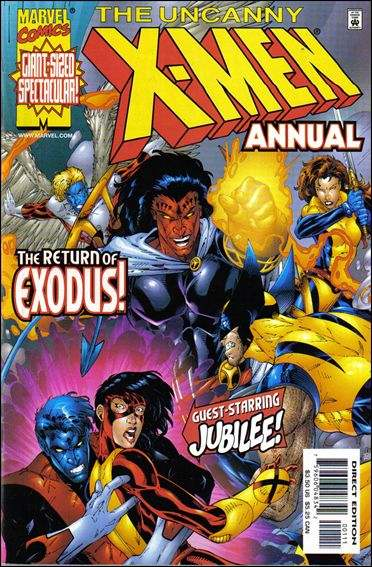 Couverture de Uncanny X-Men (The) (Marvel comics - 1963) -AN1999- Utopia perdida