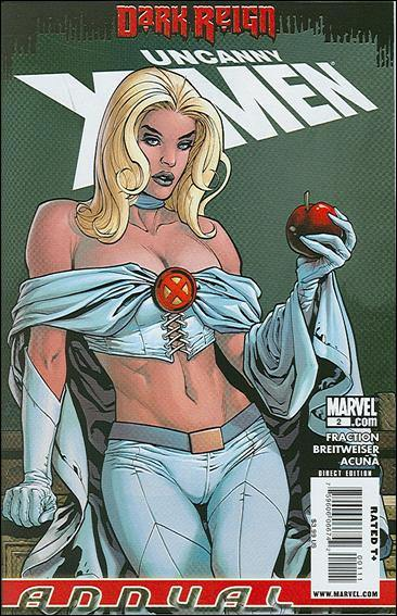 Couverture de Uncanny X-Men (The) (1963) -AN2009- Annual 2: White Queen, Dark Reign