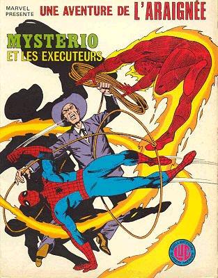 Couverture de Araignée (Une aventure de l') -7- Mystério et les Exécuteurs