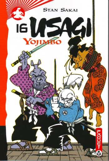Couverture de Usagi Yojimbo -16- Volume 16