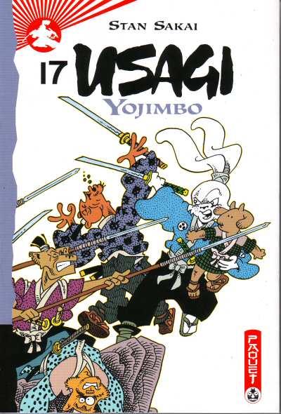 Couverture de Usagi Yojimbo -17- Volume 17