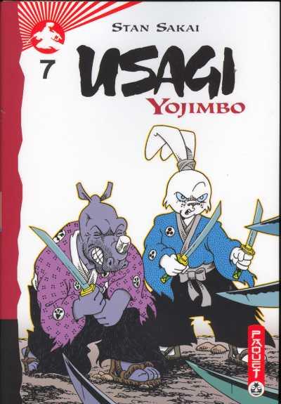 Couverture de Usagi Yojimbo -7- Volume 7