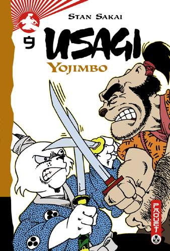 Couverture de Usagi Yojimbo -9- Volume 9
