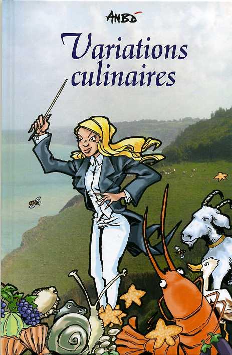 Couverture de Variations culinaires - Tome 1
