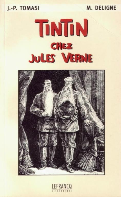 Couverture de (AUT) Hergé -19- Tintin chez Jules Verne