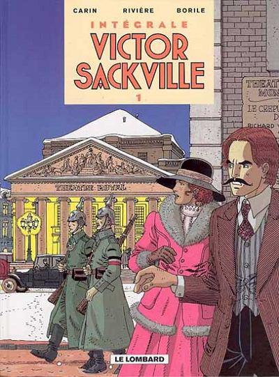 Couverture de Victor Sackville -INT1- L'intégrale - volume 1
